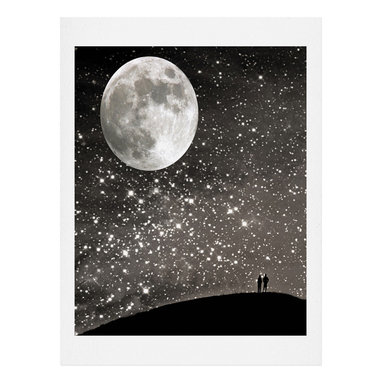 DENY Designs - DENY Designs Shannon Clark Love Under The Stars Art Print - Finally an affordable wall art option! Order one statement print or live on the edge and dream up an entire gallery wall. And whether you frame it or hang it as-is, your walls will be big on inspiration while being kind on your pocketbook.