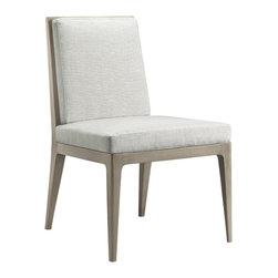 Baker Furniture - Carmel Cane Dining Side Chair - Easy elegance defines the Carmel Cane Dining Side Chair.