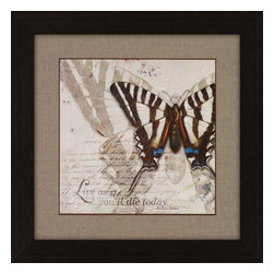 Paragon - Living Your Dreams II - Framed Art - Each product is custom made upon order so there might be small variations from the picture displayed. No two pieces are exactly alike.