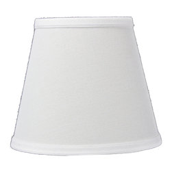 Home Concept - Empire Sand Linen Edison Clip Premium Lampshade 5x8x7 - Celebrate Your Home - Home Concept invites you to welcome your guests with our array of lampshade styles that will instantly upgrade your space