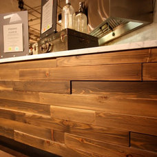Modern Hardwood Flooring by Windfall Lumber