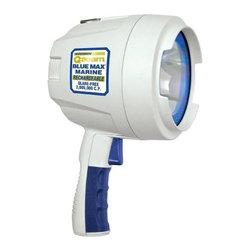 Brinkmann - 600-Lumen Marine Halogen Rechargeable Spotlight with Blue Filter - -600 lumens