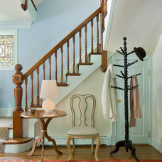 Traditional Staircase by Heidi Pribell Interiors