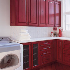 Traditional Laundry Room by Sawhill Kitchens