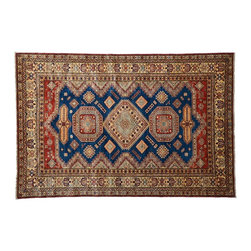 1800GetARug - Hand Knotted Rug Tribal and Geometric Super Kazak Oriental Rug Sh4770 - About Tribal & Geometric