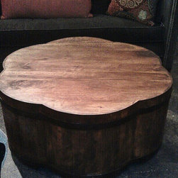 Vanguard Wooden Cocktail Table - I am so obsessed with this amazing table. What more can I say ?