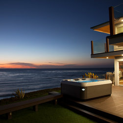 California Oceanview Home - Bullfrog Spas