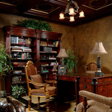 Traditional Home Office by Clay Stephens Lifestyles