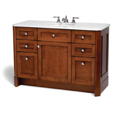 Traditional Bathroom Vanities And Sink Consoles by SplashworksKB