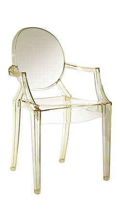 Modway - Casper Dining Chair in Yellow - Combine artistic endeavors into a unified vision of harmony and grace with the ethereal Casper Chair. Allow bursts of creative energy to reach every aspect of your contemporary living space as this masterpiece reinvents your surroundings. Surprisingly sturdy and durable, the Casper Chair is appropriate for any room or outdoor setting. Pure perception awaits, as shining moments of brilliance turn visual vacuums into new realms of transcendence.