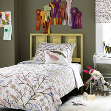 modern kids bedding by Design Public