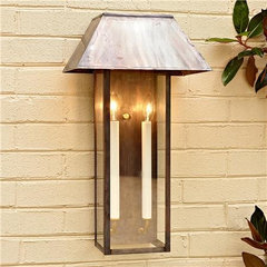 Modern Tower Outdoor Light - Shades of Light