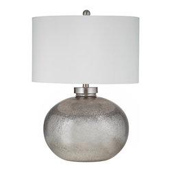 Bassett Mirror - Bassett Mirror Gardena Table Lamp L2737TEC - Bassett Mirror Gardena Table Lamp L2737TEC