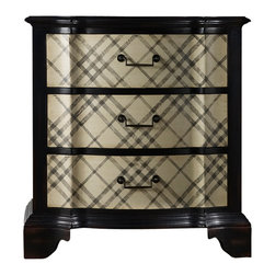 Hooker Furniture - Plaid Chest - It still holds true. Classic good looks are always in style. Place this well-heeled, lustrous chest by your bedside, or use it as your special place for lingerie.