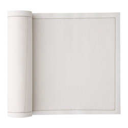 MYdrap - Cotton Luncheon Napkin, Ecru - - MYdrap Cotton Luncheon Napkins on a Roll are made of 100% cotton.