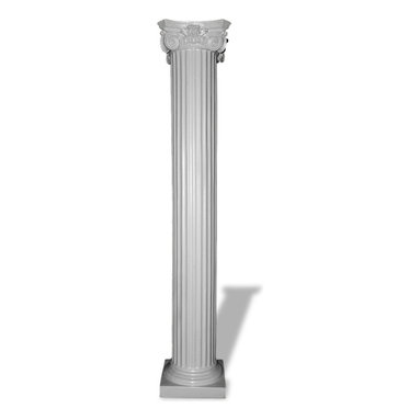Amedeo Design, LLC - USA - Fluted Greek Capital Column - Our Fluted Greek Capital Column is truly unique and has tremendous versatility inside or out. Being made from ResinStone, it is also easily moved to different locations, yet by looking at it you would think it is made from stone. Though they look like ancient European & Mediterranean designs in carved stone, our products are made of lightweight weatherproof ResinStone. So authentic, you actually have to lift them to convince yourself they're not stone at all! Made in USA.