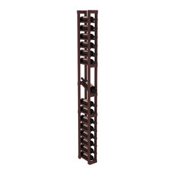 1-Column Display Row Wine Cellar Kit in Pine