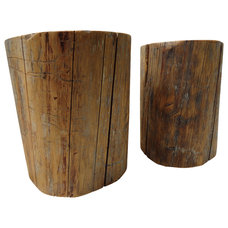 Rustic Side Tables And End Tables by Mt Hood Wood Works