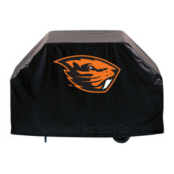 "Holland Bar Stool - Holland Bar Stool GC-OregSt Oregon State Grill Cover - GC-OregSt Oregon State Grill Cover belongs to College Collection by Holland Bar Stool This Oregon State grill cover by HBS is hand-made in the USA; using the finest commercial grade vinyl and utilizing a step-by-step screen print process to give you the most detailed logo possible. UV resistant inks are used to ensure exeptional durablilty to direct sun exposure. This product is Officially Licensed, so you can show your pride while protecting your grill from the elements of nature. Keep your grill protected and support your team with the help of Covers by HBS!"" Grill Cover (1)"