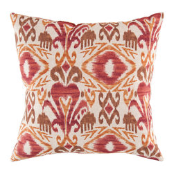 Decorative Pillow 22x22 with Polyester Filler - Pillows, available in hundreds of trend-driven colors and styles, select from saturated solids, rich textures and dozens of bold statement patterns to accentuate your space. For both indoors and out, stylish and durable options provide an ideal way to bring the design and palette of the rug into your upholstery settings - competing the look of your space