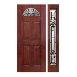 Mahogany Fiberglass Doors - The Mahogany Series bring a beautiful hardwood tone that conveys the strong spirit of Mahogany with all of the strength and integrity found in fiberglass. Each door is meticulously manufactured utilizing Plastpro's HydroshieldTechnology™ to guarantee the highest quality.