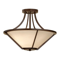 Murray Feiss - Murray Feiss Nolan Transitional Semi Flush Mount Ceiling Light X-ZBTH692FS - Murray Feiss Nolan Transitional Semi Flush Mount Ceiling Light X-ZBTH692FS
