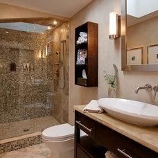 Contemporary Bathroom by Tad Davis Photography