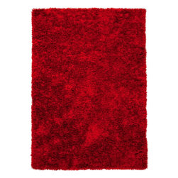 Jaipur - Shag Verve 9'x12' Rectangle Mars Red-Mars Red Area Rug - The Verve area rug Collection offers an affordable assortment of Shag stylings. Verve features a blend of natural Mars Red-Mars Red color. Handmade of 100% Polyester the Verve Collection is an intriguing compliment to any decor.