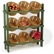 Traditional Food Containers And Storage by Displays2Go