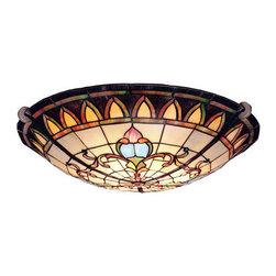 Kichler - Kichler 69041 Manor 3 Light Semi-Flush Indoor Ceiling Fixture - Product Features: