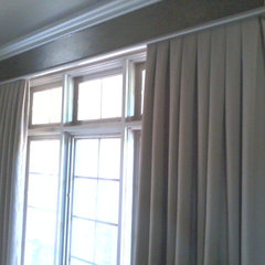 traditional curtains by A M P Designs