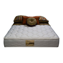 Wolf Mattress - Sleep Accents Renewal 10-inch Full-size Mattress - This soft full-size mattress allows you to sleep in comfort. Made by Sleep Accents, this soft renewal mattress offers maximum rest with a quarter-inch layer of foam for additional padding. The stretch knit cover offers a quick rebound.