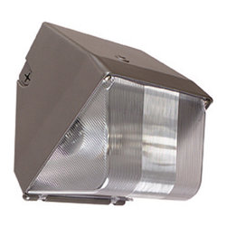 Sunset Lighting - Sunset Lighting F7303-66 Bronze Hid Mini Wall Pack with Diecast Aluminum Housing - Sunset Lighting F7303-66 Bronze HID Mini Wall Pack with Die-Cast Aluminum Housing