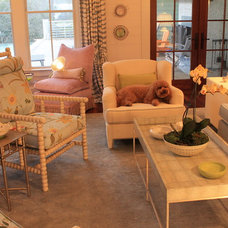 Eclectic Living Room by Trinity Mercantile & Design