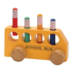 The Original Toy Company - The Original Toy Company Kids Children Play Pop Up School Bus - Our POP UP SCHOOL BUS joins the ever popular POP UP TOY, which has delighted toddlers for years, along with being reconize by many toy awards thru-out the world. This bus has much more greater added value with wheel movement. Weighs approximately 3.00 pounds.