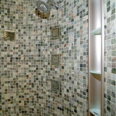 Contemporary Showers by Capitol Design Build
