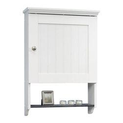 Sauder - Sauder Caraway Wall Cabinet in Soft White - Sauder - Bathroom Cabinets - 414061 -