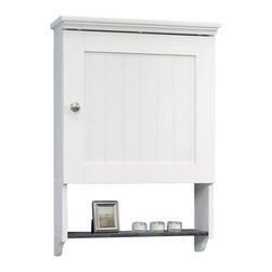 Sauder Sauder Caraway Wall Cabinet In Soft White