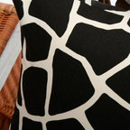 Best Home Fashions - Africa.B Modern 38 Pillow Covers (set of 2) - - A bold color accent to complement your home decor