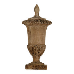 Zentique Maeva Large Wooden Urn
