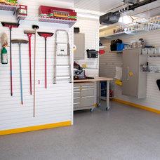 Traditional Garage And Shed by GarageTek UK