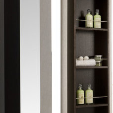 Contemporary Bathroom Storage Contemporary Bathroom Storage