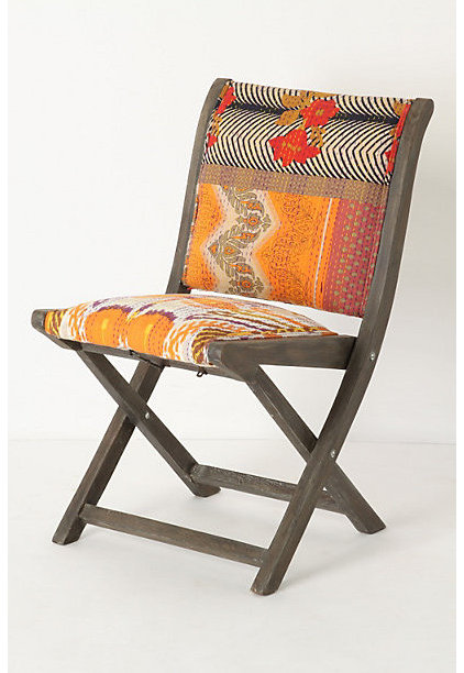 Eclectic Living Room Chairs by Anthropologie