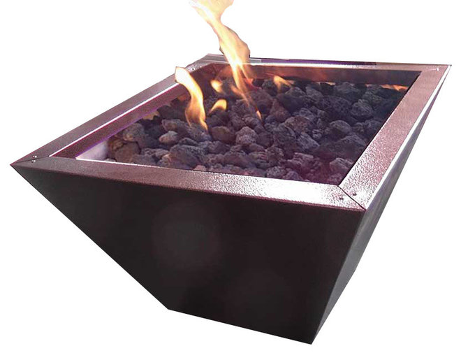 Contemporary Firepits by Warming Trends LLC