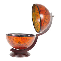 "EuroLux Home - New 13"" Globe Red OM-167 - Product Details"