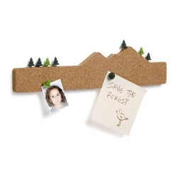 Memo Mountain - Pin anything from to-do lists to coupons on this corkboard to make sure nothing ever slips your mind.
