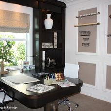 Contemporary Home Office by Forgie Home Staging & Redesign