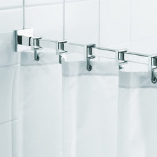 Traditional Shower Curtain Rods by PlumbingDepot.com