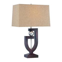 Minka-Lavery - Minka-Lavery 1 Light Table Lamp - 10050-0 - ILLUMINATION