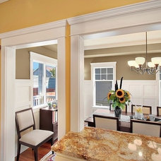 Traditional Dining Room by Sheila Mayden Interiors